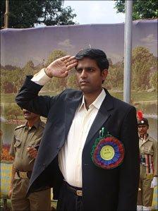 File picture of R Vineel Krishna