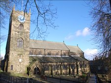 Bront� church, Haworth