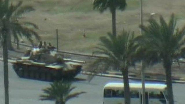 Tank in Bahrain