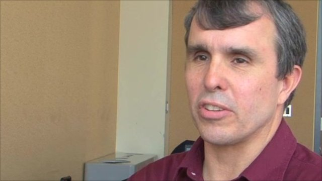 Eric Betzig, researcher at the Janelia Farm Research Campus at Howard Hughes Medical Institute