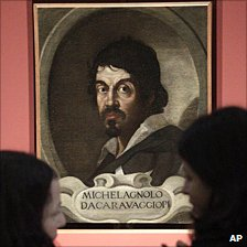 Portrait of Caravaggio by unknown painter