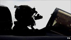 Tornado jet at RAF Lossiemouth