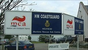 Holyhead coastguard station signs