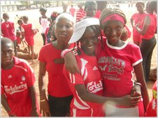 Pupils ready to play sport at Sabu International School
