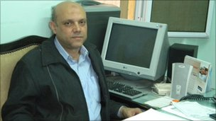 Farouk Hospital director, Magdi Ahmed Abdel Aziz