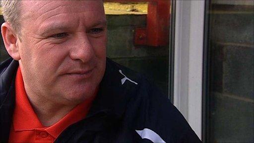 Crawley Town's Steve Evans