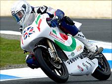 Danny Kent in action