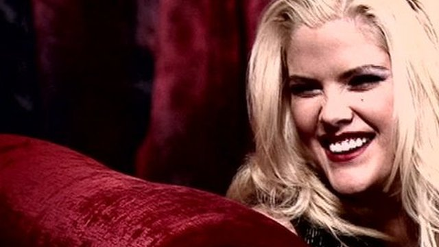 Meeting the real Anna Nicole - BBC News
