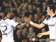 Benoit Assou-Ekotto and Gareth Bale