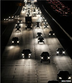Traffic on a highway (Image: Reuters)