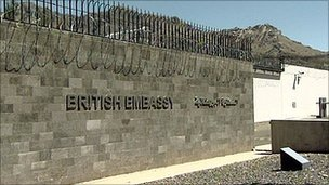 British Embassy Yemen