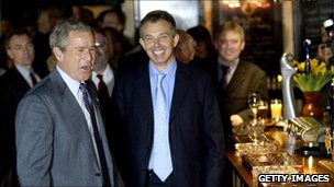 President Bush and Tony Blair