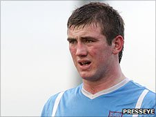 Ballymena United's 24-year-old defender Denver Gage