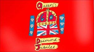 Queen's Diamond Jubilee emblem