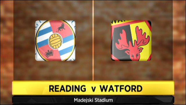 Reading v Watford