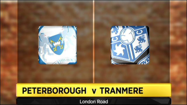 Peterborough v Tranmere