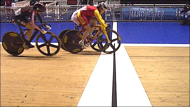 Victoria Pendleton finishes third