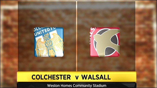 Colchester v Walsall