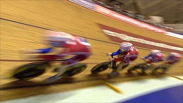 GB men's pursuit team on track in Manchester