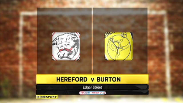 Hereford v Burton