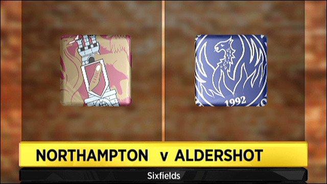 Northampton v Aldershot