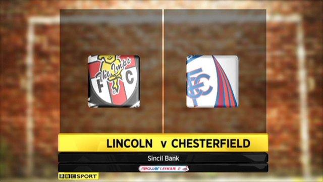 Lincoln v Chesterfield