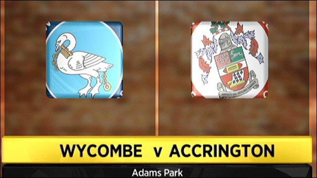 Wycombe v Accrington Stanley