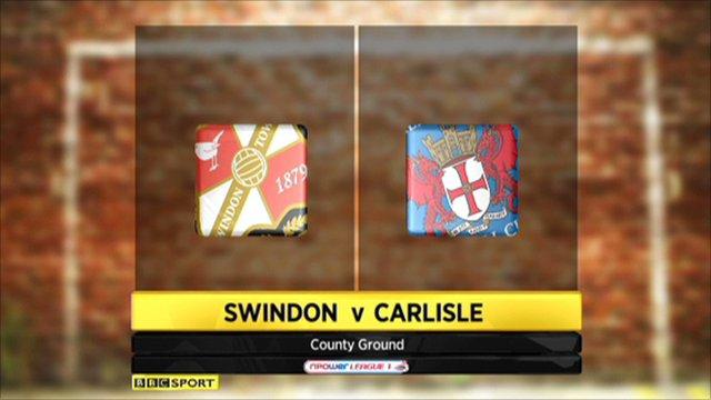 Swindon v Carlisle