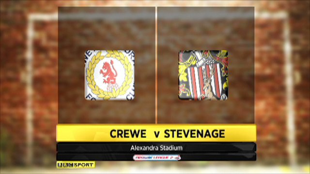 Crewe v Stevenage