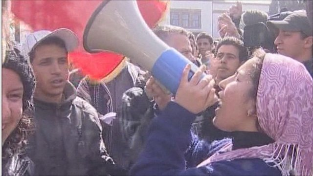 Protests in Morocco
