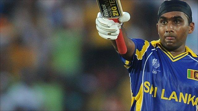 Sri Lankan cricketer Mahela Jayawardene