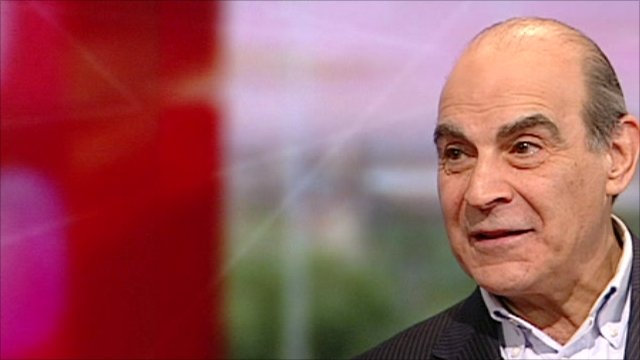 David suchet scoops best actor in a play award