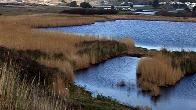 St Ouen's pond