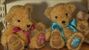 Olympic teddies