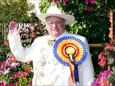 Alan 'Howling Laud' Hope - Monster Raving Loony Party