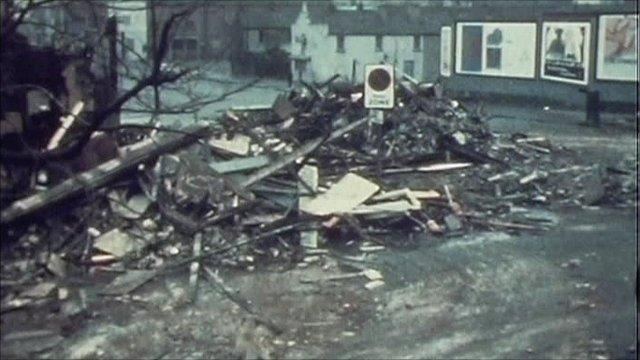 Bomb scene