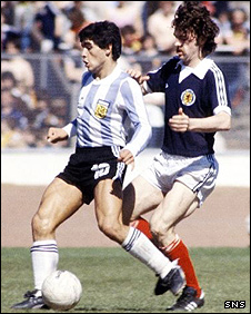 Diego Maradona and John Wark
