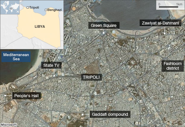 Tripoli map