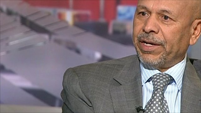 Ali Aujali, Libya&#039;s ambassador to the United States