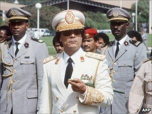 Muammar Gaddafi (1985)