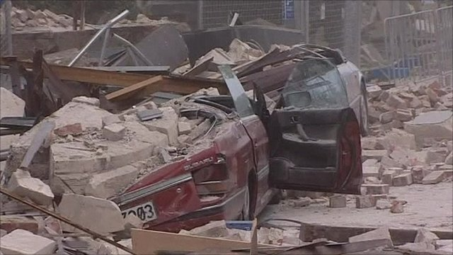 Christchurch earthquake aftermath
