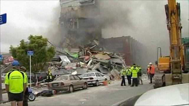 Christchurch earthquake aftermath