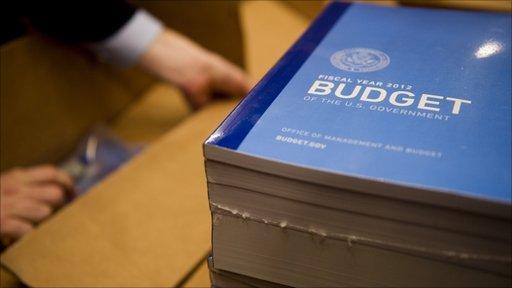 US President Barack Obama's budget