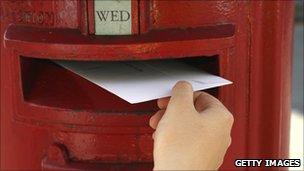 British letterbox