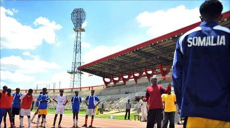 Somali coach Abdi Farah Ali