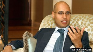 Saif al-Islam Gaddafi