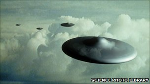 UFO (Photo: Science Photo Library)