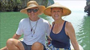 Picture of Scott and Jean Adam from SVQuest.com