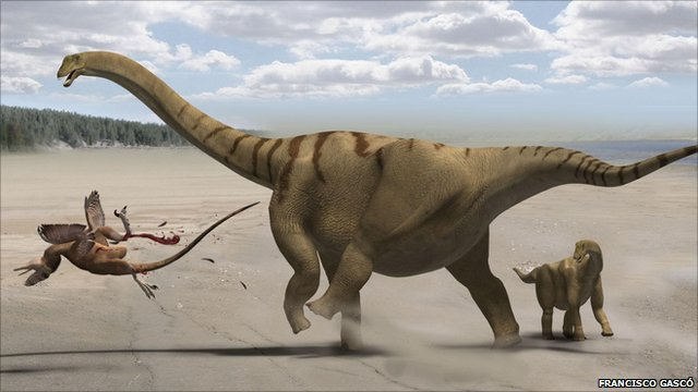Artist&#039;s impression of Brontomerus
