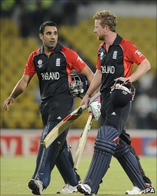 Ravi Bopara and Paul Collingwood